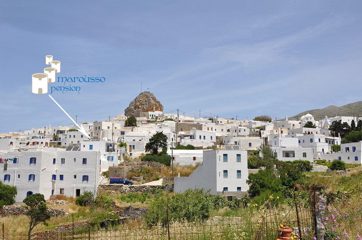 Location Pension Marousso Chora Amorgos