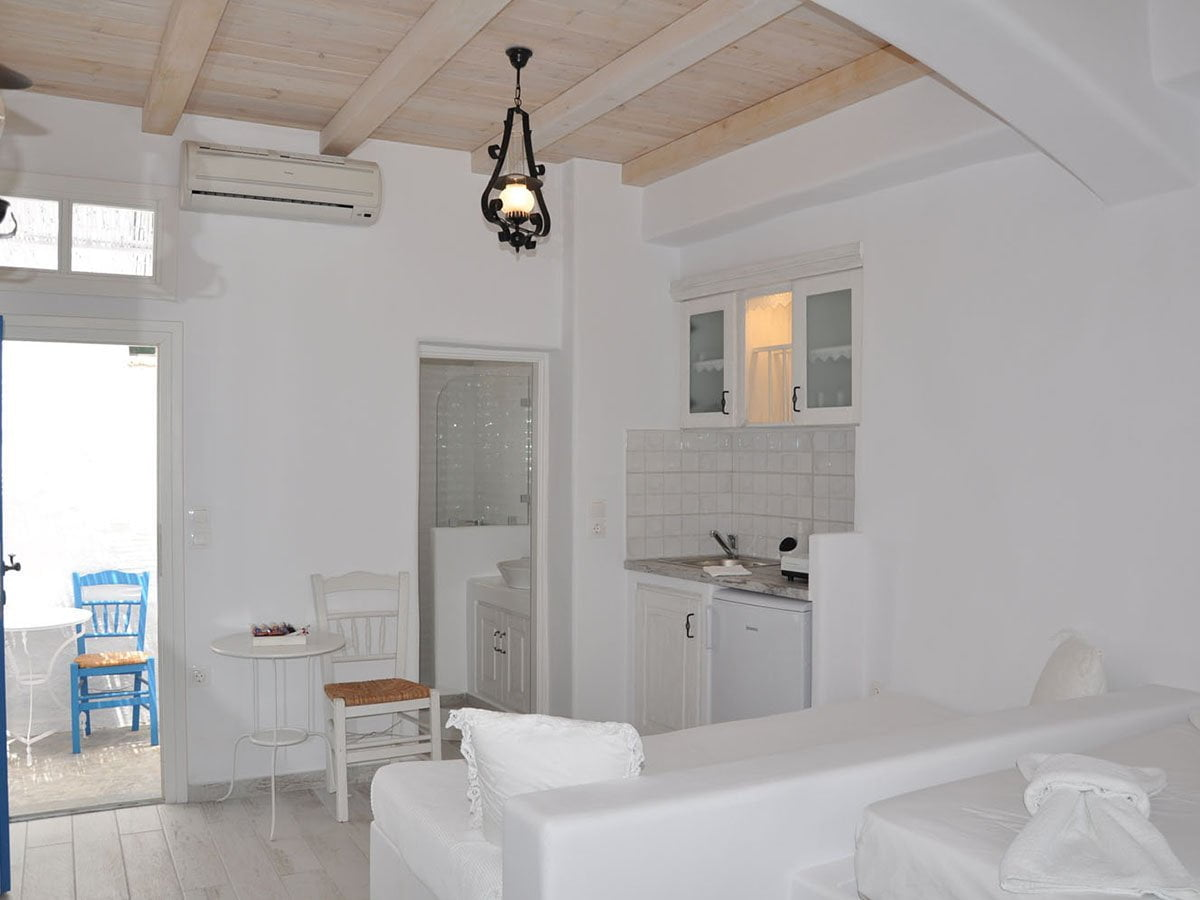 Accommodation Room 8 | Studio | 3 persons | Ground floor